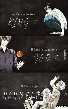Death Note...