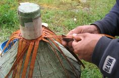 images of cedar bark weaving - Google Search