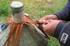 images of cedar bark weaving - Google Search