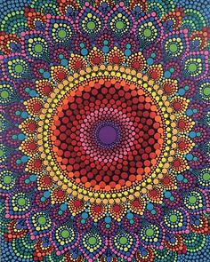 Dot Art Painting, Mandala Painting, Stone Painting, Pebble Painting, Mandala Design, Mandala Pattern, Mandala Art Lesson, Mandala Rocks, Aboriginal Art