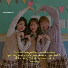 Quotes Sahabat, Qoutes, Best Friend Goals, Best Friend Quotes, Fake Friends, Best Friends, Quotes Indonesia, Cute Love Quotes, Music Lovers