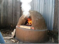 How to Build an Outdoor Mud Oven for Use Now and When the SHTF