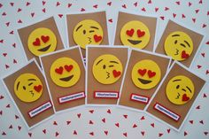 DIY Emoji Valentines