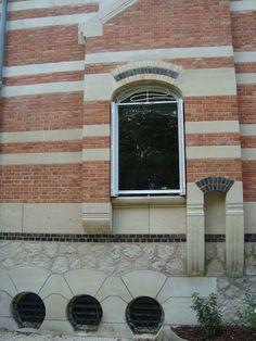 Art Nouveau - Maison 'La Hublotière' -  Route de Montesson - Le Vésinet - Hector Guimard - Vasistas Hublots