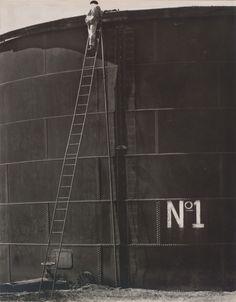 Tina Modotti Oil Tank 1927