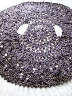 Crochet Flower Circle Cardigan Jacket                                                                                                                                                                                 More