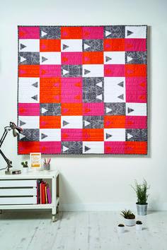 Fresh modern quilt