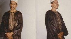 Obama'nın takkeli fotoğrafları ortaya çıktı!