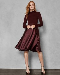ef508a2f27f Antonio Melani Juliet Pinstripe Tiered Ruffle Flounce Hem Linen Midi Dress