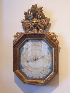 Things That Inspire: French Barometers  Beautiful!