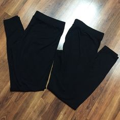 2 Pairs of Gap Body Leggings Very Good Condition - may have some hair from my dog but I'll try to use a lint roller to get it all off  GAP Pants Leggings
