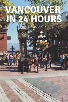Here's a quick guide on how to spend a short and quick 24 Hours in Downtown Vancouver -- divine food, great coffee & Downtown Sights you have to see! Downtown Vancouver Canada, Vancouver Travel, Vancouver City, Vancouver Island, Canada Destinations, Amazing Destinations, Vacation Destinations, Ottawa, Vancouver Things To Do