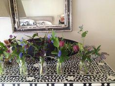 Flowers for Cissy in Zoe's bedroom