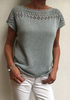 Sweater Knitting Patterns, Knitting Stitches, Knitting Designs, Knit Patterns, Free Knitting Patterns For Women, Knitting Machine, Summer Knitting, Knit Fashion, Fashion Wear