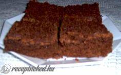 Brownie recept fotóval Brownies, Food, Cake Brownies, Essen, Meals, Yemek, Eten