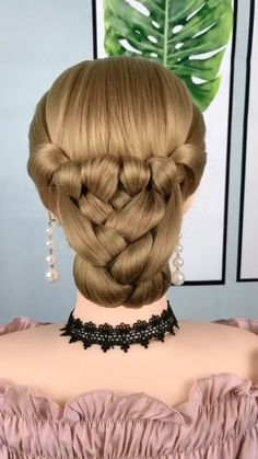 Short Hair Makeup, Hairdo For Long Hair, Bun Hairstyles For Long Hair, Braided Hairstyles, Hairstyles For Girls, Trendy Hairstyles, Medium Hair Styles, Long Hair Styles, Hair Braiding Styles
