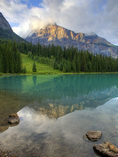 Emerald Lake, Yoho NP / Canada (by Bob and Lynn).