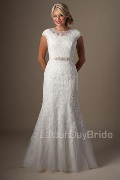 Modest Wedding Dresses : Olympia. Latter Day Bride, Gateway Bridal & Prom