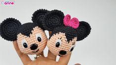 """Amigurumi Miki ve Mini Fare Yapımı Minie ve Mickey Mause görünce sevinç çığlığı attığımız tek farecikler değil mı? Canimanne.com ve yaseminkale işbirliği ile """"adım adım örgü oyuncak & amigurumi öğreniyoruz""""da çizgi karakterleri örmeye başlamak Mini bir açılış yapıyoruz. Farecikleri; anahtarlık,doğum günü hediyesi,arabanıza hatta çantanıza süs olarak kullanabilirsiniz. Kullanılan malzemeler 50 gramda 140 mt %50 pamuk …"""
