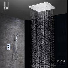 Duchas modernas. Diferentes tipos de duchas para baños modernos.