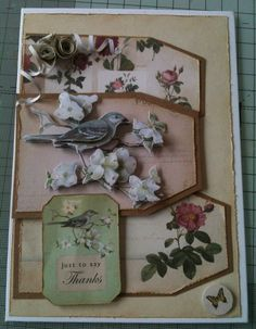 All docrafts products Kraft card and botanicals.