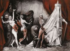 The Bloody Countess - S a n t i a g o  C A RUSO  -  Artist & Illustrator