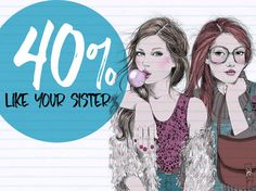 I got: 40% like your sister! How Similar Are You And Your Sister?