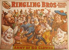 Repro Vintage Circus Poster from 1960's by Retro Attic, via Flickr