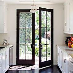 Kitchen : Jeff Klein and John Goldwyn's Hollywood Hills Home : Architectural Digest