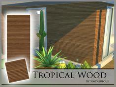 SimFabulous' Tropical Wood