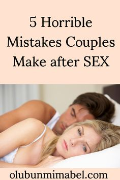 You just had an intimate session with your spouse.   It was great. Or not.   However it was, the end of a thing is as important as the beginning and the process...#marriageadvice #marriagetips Happy Marriage Tips, Marriage Humor, Good Marriage, Marriage Advice, Abusive Relationship, Relationship Advice, What Is Healthy, Wise Quotes, Healthy Relationships