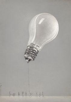 drawing lightbulb led lightbulbs pencils bulb pencil bulbs drawings heumann easy still object cool coloured lamp andreas artlimited painted artist