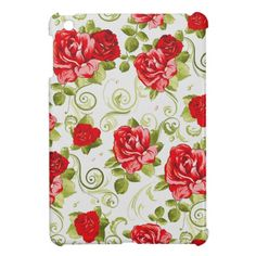 vintage flowers case for the iPad mini