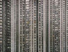 Arquitetura de Density1  predios em Hong Kong