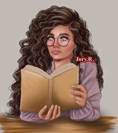 Girly M, Cute Cartoon Girl, Cartoon Art, Sarra Art, Curly Hair Drawing, Bff Drawings, Cute Girl Drawing, Cute Photography, Digital Art Girl