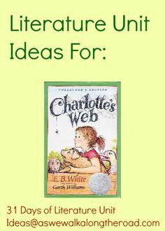 Literature unit for Charlotte's Web by E.B. White