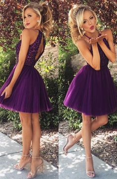 short homecoming dresses, homecoming dresses short, purple homecoming dresses, short prom dresses, prom dresses short, cheap beaded prom dresses, dresses for women, women's prom dresses