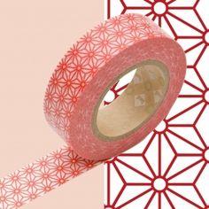 japanisches Washi Tape / Masking Tape  Reispapier  leicht transparent  beschreibbar  selbstklebend auf fast allen Oberflächen  rückstandsfrei ablösbar