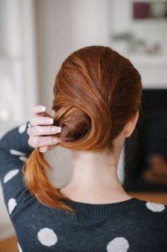 Bun Hairstyles - Pretty Updos