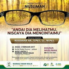 Hadirilah…! Taklim Muslimah
