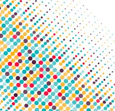 Colored Circles Background
