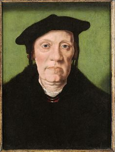 Portrait by Jan Van Scorel (1495-1562), possibly of Cornelis Aerentsz van der Dussen (1481-1551), Secretary of Delft from 1536. The original painting is currently with the Weiss Gallery, London.