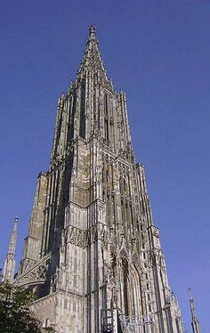 Ulm, Germany - Climbed to the top of the Ulmer Münster, the tallest church tower in the world!
