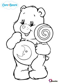 care bears coloring pages - BubaKids.com