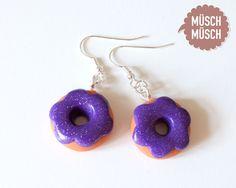 Lila Glitzer-Donuts von MÜSCH-MÜSCH!