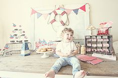 vintage nautical party