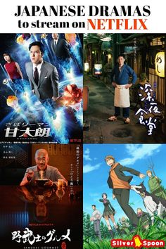 Here's a fun list of Japanese dramas to stream and watch on Netflix. From drool-worthy drama series to anime to romantic comedy, you want to keep them on your Netflix watchlist right now. Binge-watching is totally ok. Netflix Shows To Watch, Movies To Watch, Japanese Drama, Japanese Culture, Japanese Food, Movie List, Movie Tv, Read Manga Online Free, Japanese Language Learning