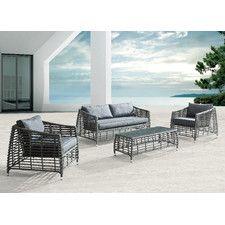 Wreak Beach Deep Seating Group with Cushions