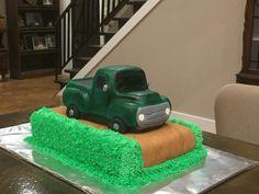 1950s pickup truck cake