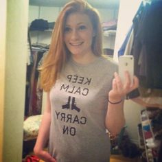 Gunmetal Edition - Get Your Keep Calm Tee Now!!  Click & Buy Now: http://mysocialtees.com/products/keep-calm-limited-edition-tshirt?pin  Thanks for the pic, Chantelle Gillis!